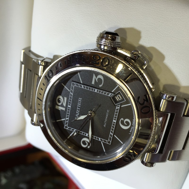"""Cartier PASHA SEA-TIMER   review""的图片搜索结果"