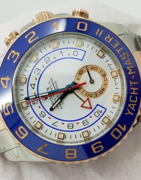 ROLEXYACHTMASTER II116681WHITERose18k & Stainless Steel44mmMechanical (Automatic)WATCH