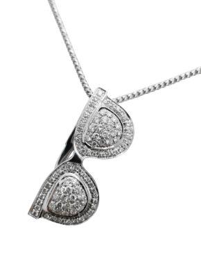ANDREOLI        1.25        ct                DIAMOND                18K         White Gold        8.3        G        SUNGLASSES  pendant