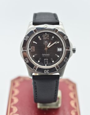 TAG HEUER        200 METERS        wn2111       BLACK                                        Stainless Steel        Genuine Leather        38mm        Mechanical (Automatic)        WATCH
