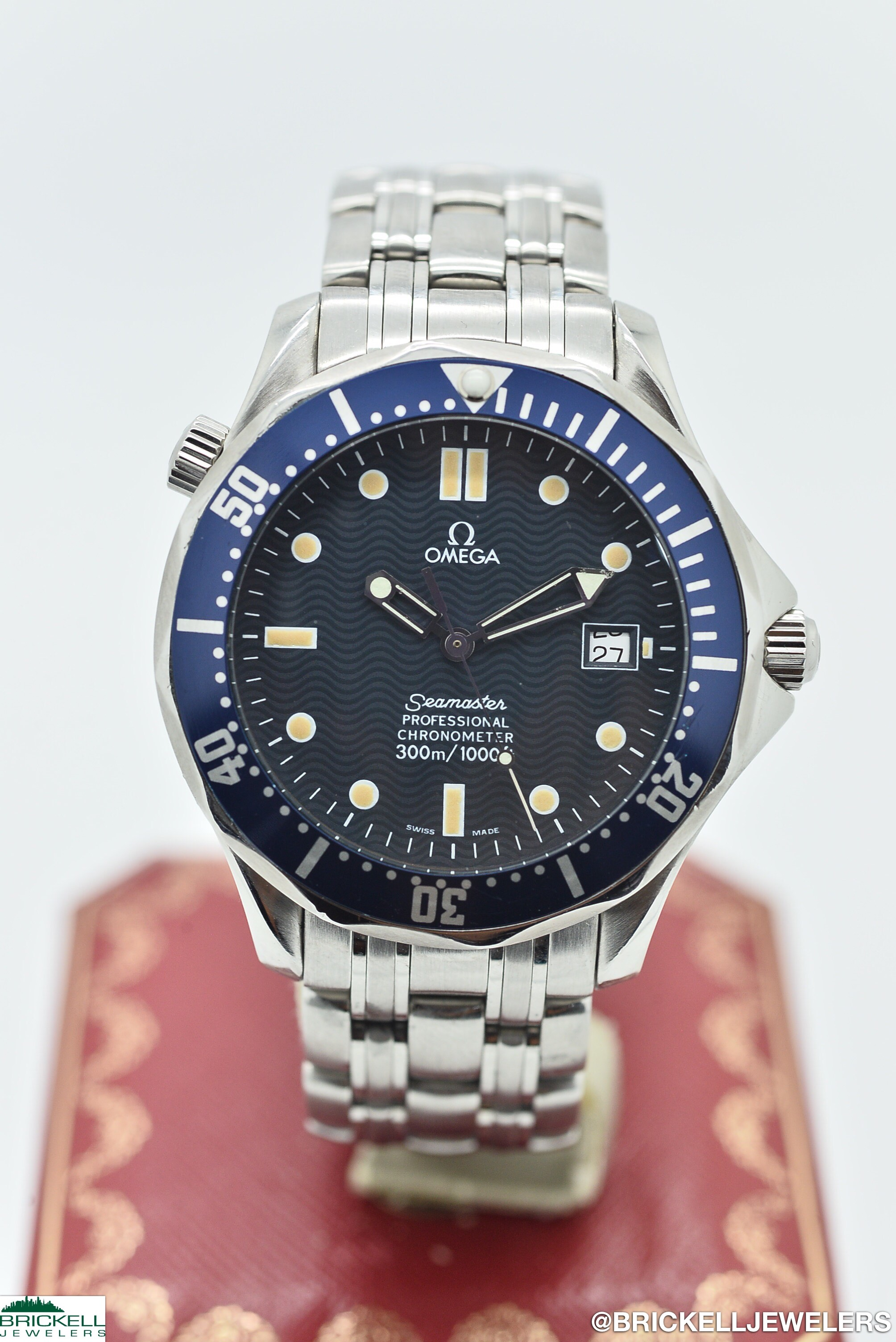 OMEGA	SEAMASTER PROFESSIONAL 300M	168 1603, 368 1603	BLUE					Stainless Steel			Mechanical (Automatic)	WATCH