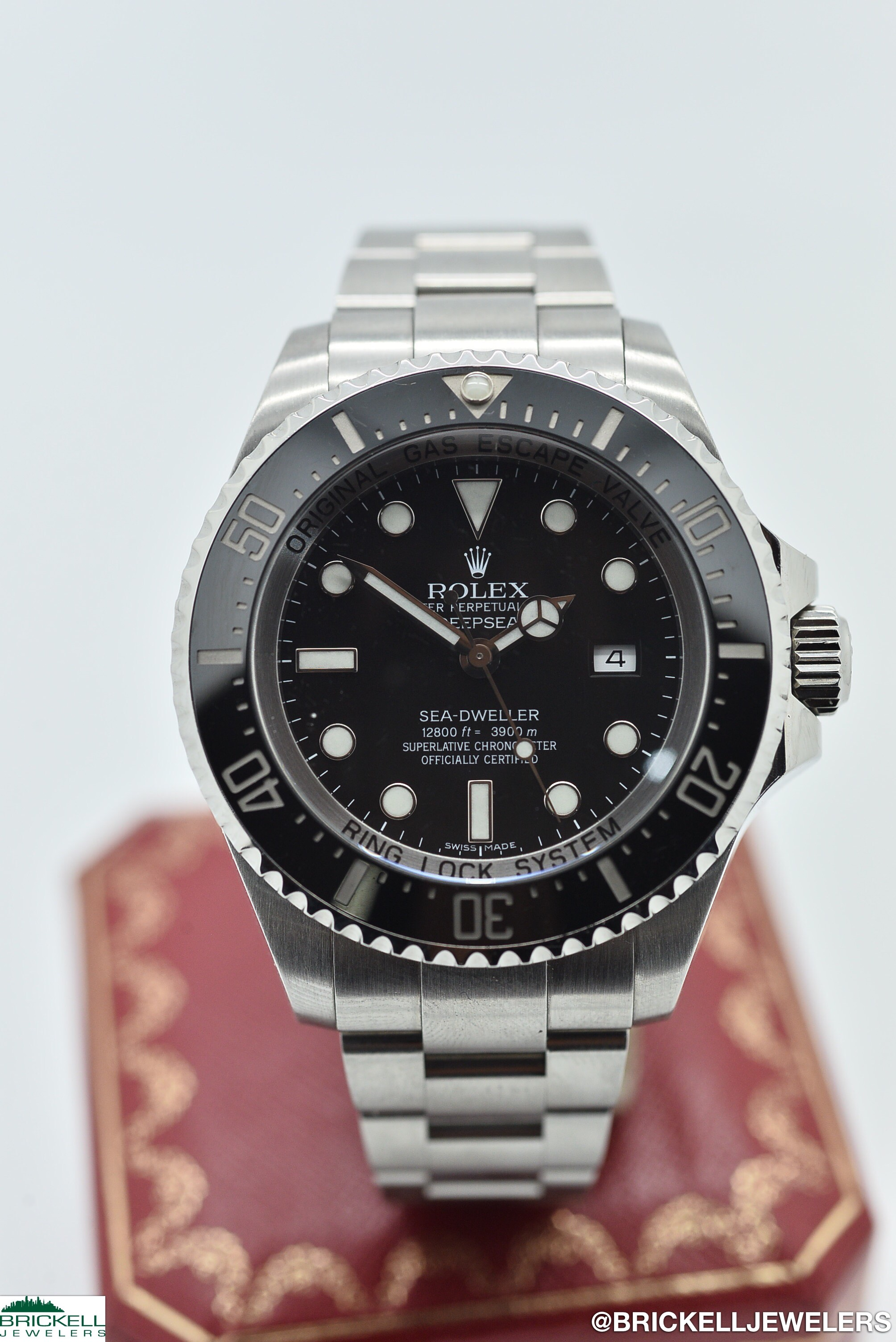 ROLEX	SEA DWELLER DEEPSEA	116660	BLACK					Stainless Steel		44MM	Mechanical (Automatic)	WATCH