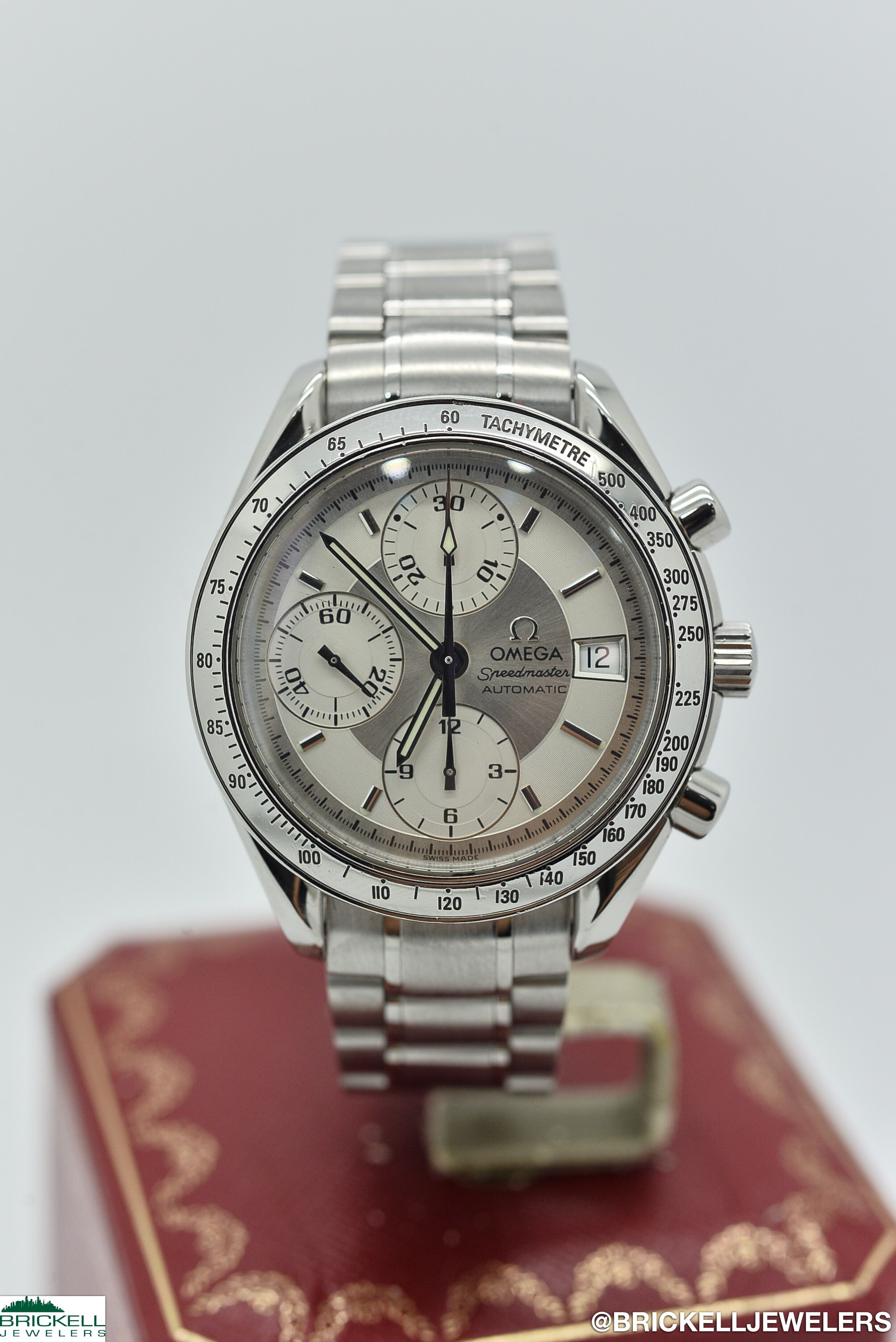 OMEGA	SPEEDMASTER		SILVER / GREY					Stainless Steel			Mechanical (Automatic)	WATCH