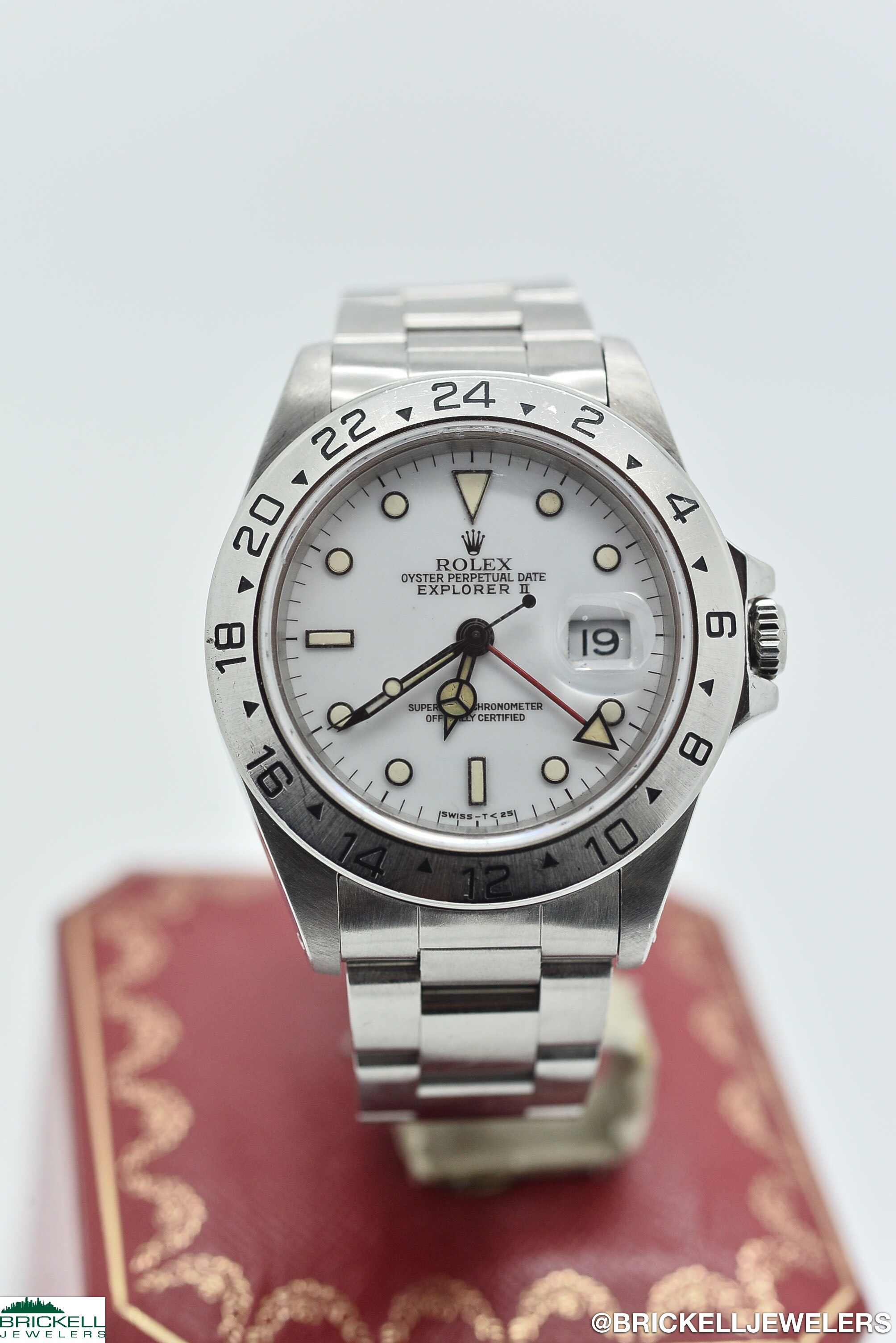 ROLEX	EXPLORER	16570	WHITE					Stainless Steel			Mechanical (Automatic)	WATCH