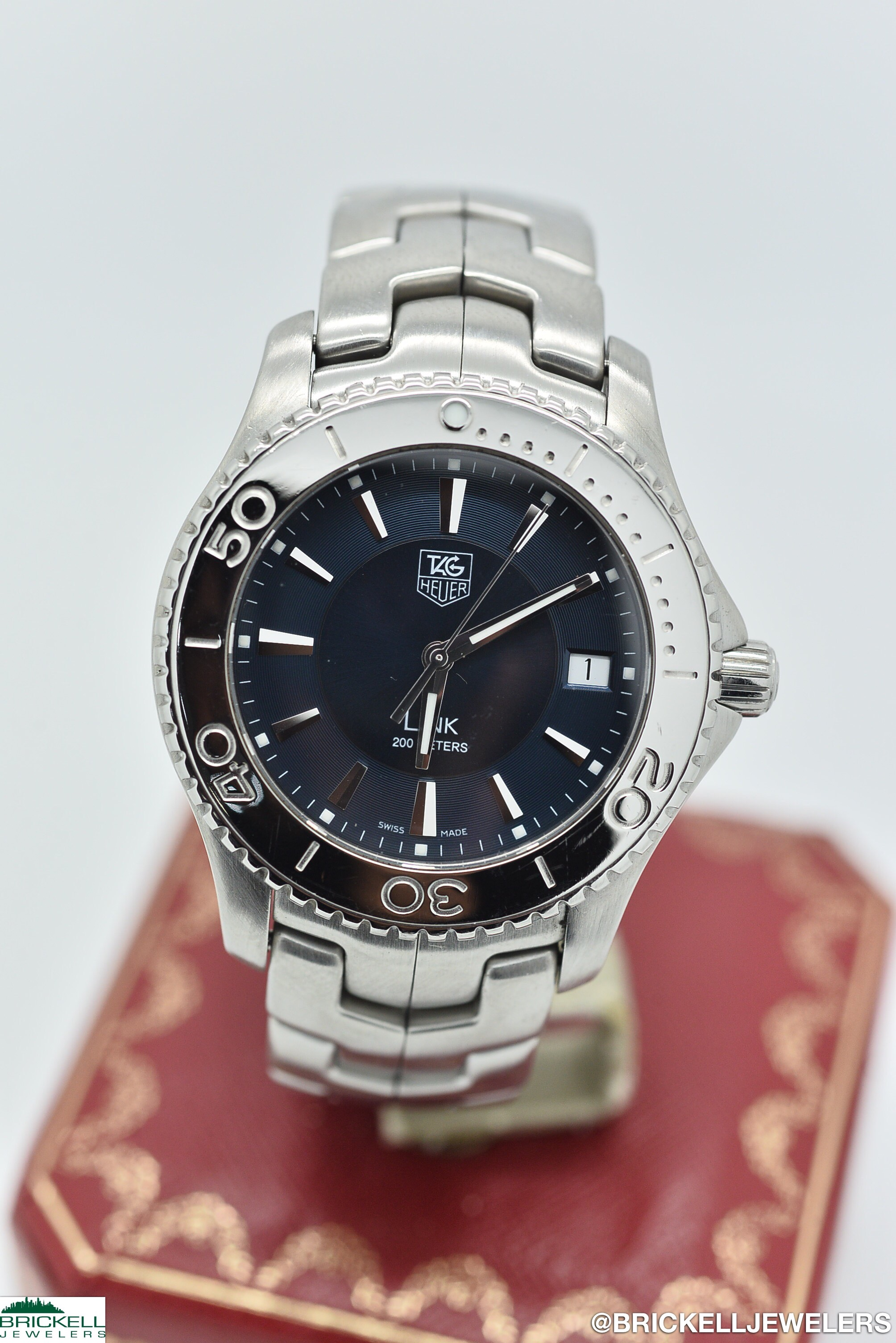 TAG HEUER	LINK	WJ1112	BLUE					Stainless Steel			Quartz (Battery)	WATCH