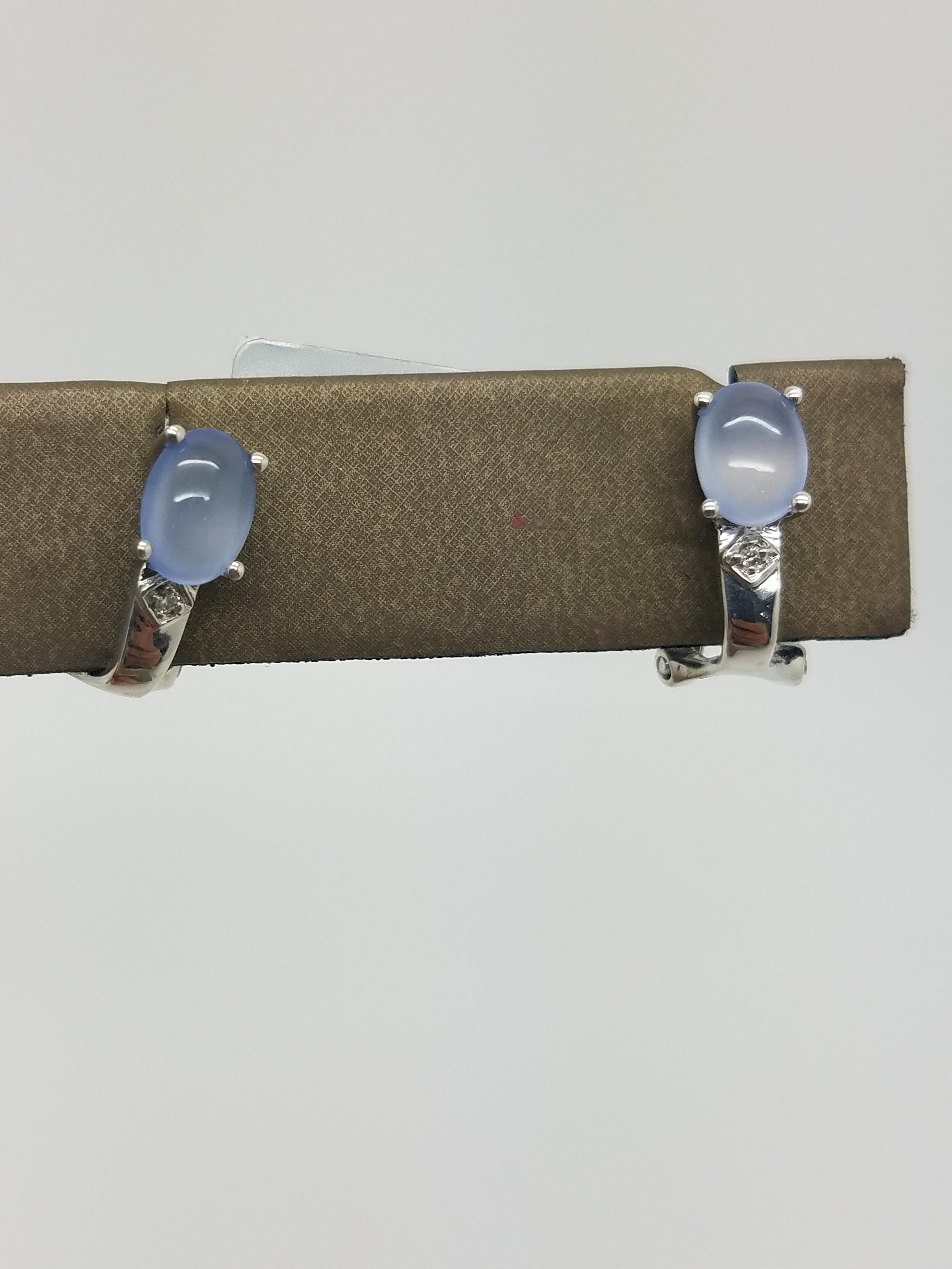 18K Rose Gold 7 g Diamond Huggie Earrings 1 50 ct