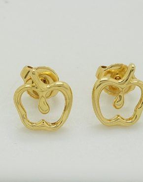 fcc5f65ad Tiffany & Co. Elsa Peretti Gold Apple Earrings · Jewelry ...